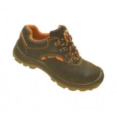 KM2 KM2239 Black Safety Shoes Low Cut Rubber