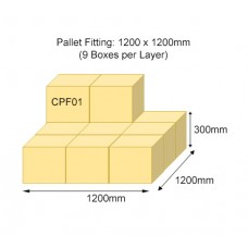 CPF01 Double Wall Pallet Fitting Plain Carton Box