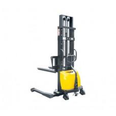 CTD15B-III 1.5T x 3.0M Adjustable Forks Straddle Legs Semi-Electric Stacker