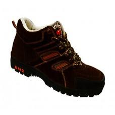 KM2 KM9858A Dark Brown Safety Shoes