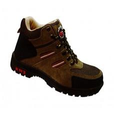 KM2 KM9858A Khaki Safety Shoes Low Cut Rubber