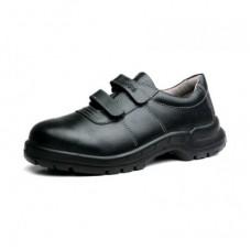KING'S Safety Shoes KWS841 Low Cut Hook n Loop Black