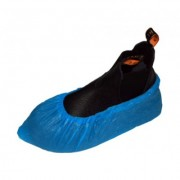 Disposable CPE Shoe Cover Blue (100pcs / pack)