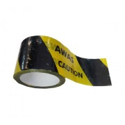 "Printed ""AWAS / CAUTION"" Barrier Tape"